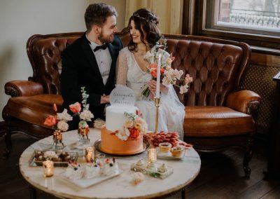 fotografia ślubna pałac wąsowo